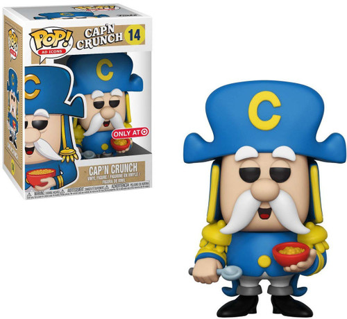 Funko Quaker Oats POP! Ad Icons Cap'n Crunch Exclusive Vinyl Figure #14
