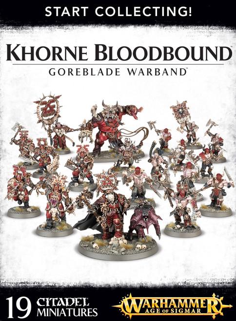 Warhammer Age of Sigmar Grand Alliance Chaos Khorne Bloodbound Goreblade Warband