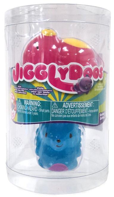 JigglyDoos Series 2 Pink Bear & Blue Hedgehog Squeeze Toy 2-Pack