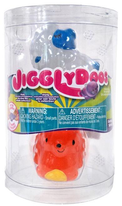 JigglyDoos Series 2 White Sheep & Orange Hedgehog Squeeze Toy 2-Pack