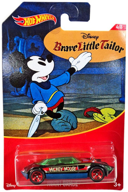 Disney Hot Wheels Mickey Mouse Avant Garde Die Cast Car #4/8