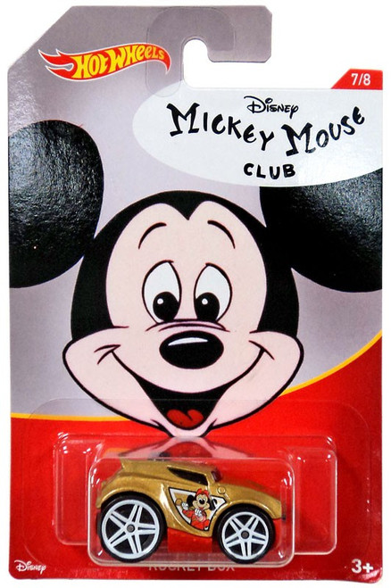 Disney Hot Wheels Mickey Mouse Rocket Box Die Cast Car #7/8
