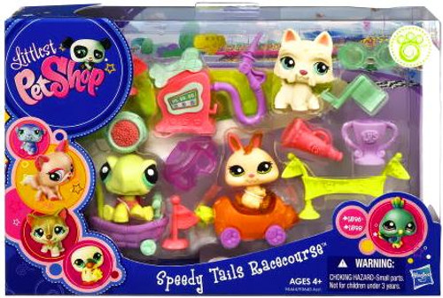 Littlest Pet Shop Speedy Tails Racecourse Playset