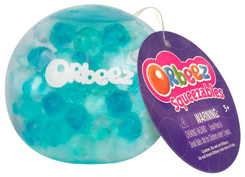 Squeezables Orbeez Green & Blue Squeeze Toy