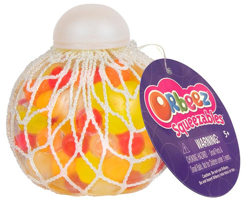 Squeezables Orbeez Yellow, Orange & Red Squeeze Toy