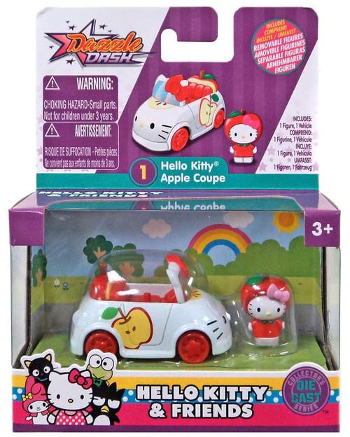 Dazzle Dash Hello Kitty Apple Coupe Diecast Vehicle