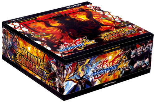 Future Card BuddyFight Trading Card Game Ace Vol. 1 Buddy Lineage Booster Box Alternative BFE-S-BT01A [30 Packs]