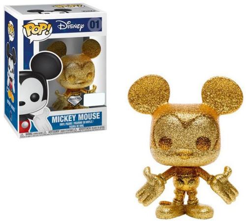 Funko POP! Disney Mickey Mouse Exclusive Vinyl Figure #01 [Diamond Collection, Gold]