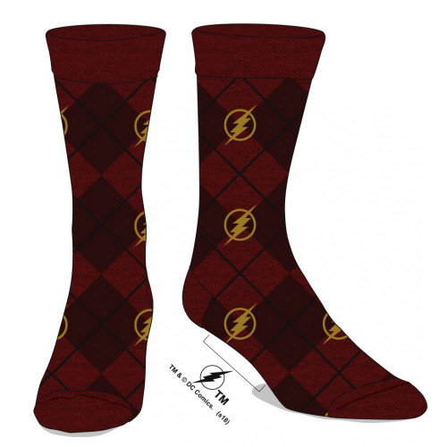 DC Flash Men's Dress Socks