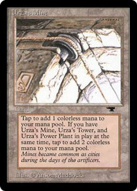 MtG Antiquities Uncommon Urza's Mine [Pulley]