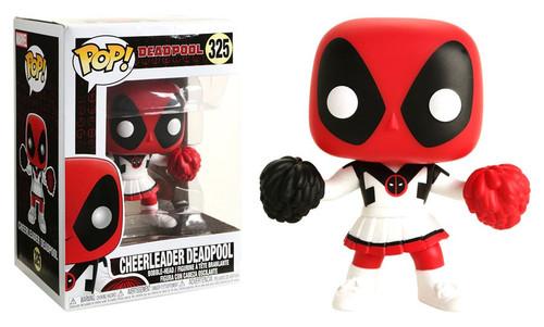 Funko POP! Marvel Cheerleader Deadpool Exclusive Vinyl Bobble Head #325