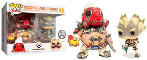 Funko Blizzard Overwatch POP! Games Roadhog & Junkrat Exclusive Vinyl Figure