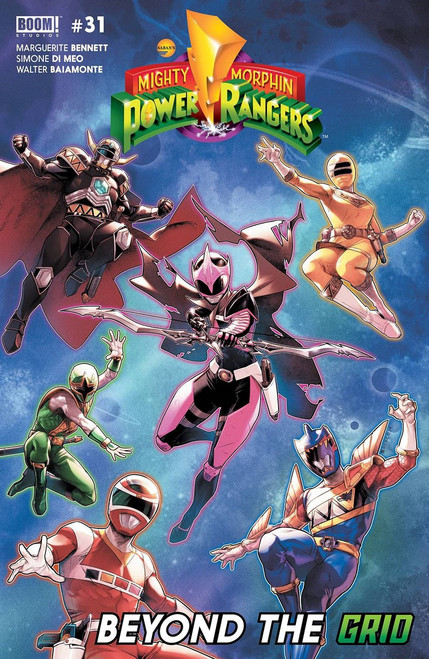 Boom Studios Mighty Morphin Power Rangers #31 Beyond The Grid Comic Book