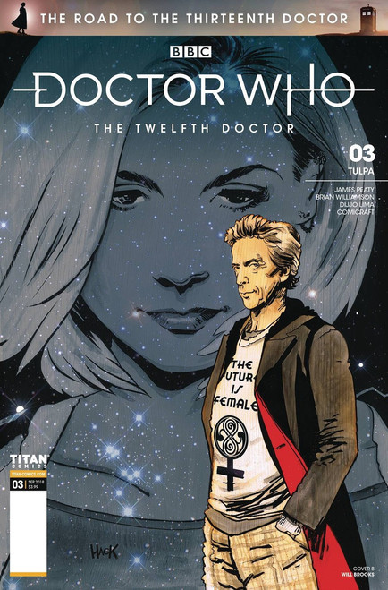 Titan Comics Doctor Who The Road to The Thirteenth Doctor #3 Comic Book