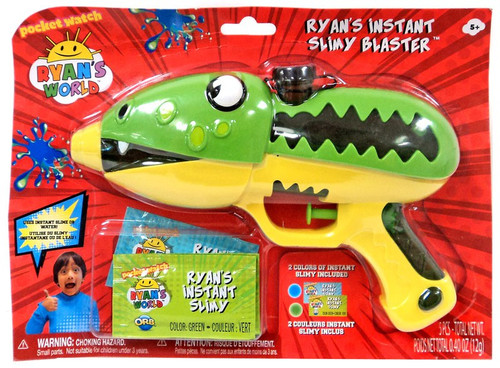 Ryan's World Ryan's Instant Slimy Blaster Toy [Green]