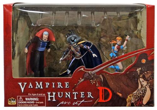 Magnus, Vampire Hunter D & Doris PVC Figure 3-Pack