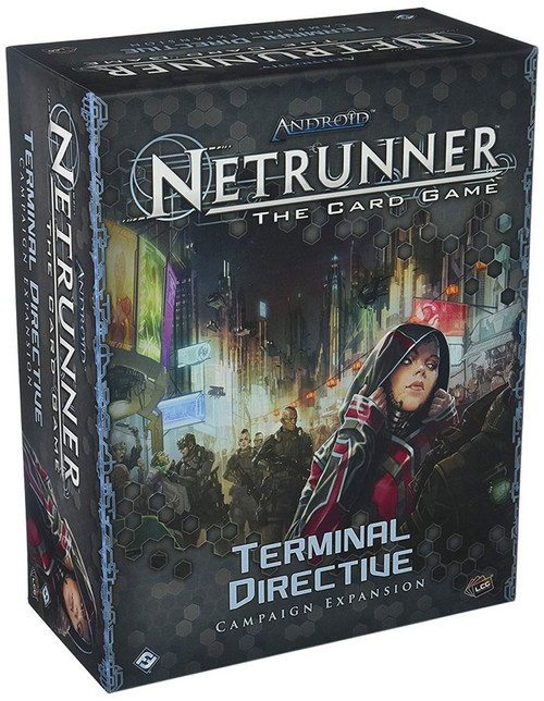 Android Netrunner LCG Terminal Directive Campaign Expansion