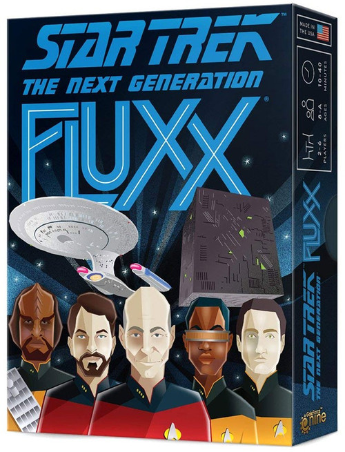 Fluxx Star Trek The Next Generation Card Game