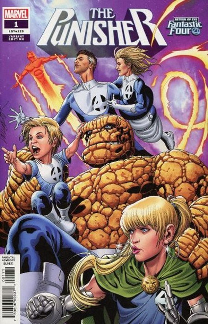 Marvel Comics The Punisher #1 Comic Book [Return of Fantastic Four Variant]