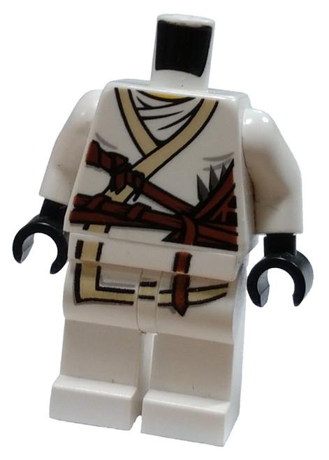 LEGO White Ninjago Loose Torso & Legs [Loose]
