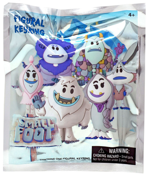 3D Figural Keyring Smallfoot Mystery Pack
