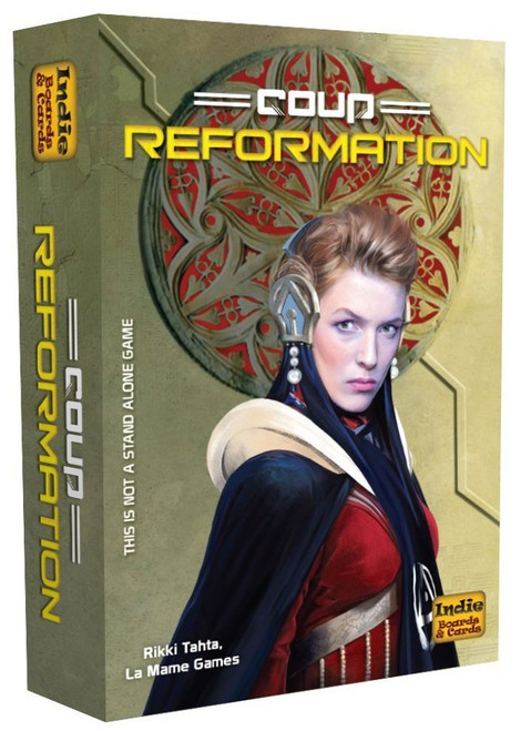 Coup Reformation Card Game Expansion