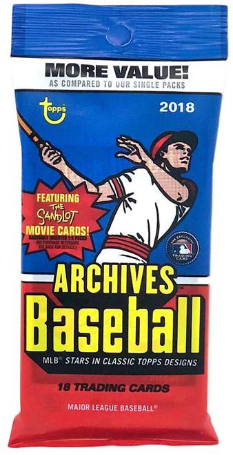 MLB Topps 2018 Archives Baseball Trading Card VALUE Pack [18 Cards]