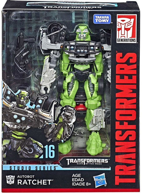 Transformers Generations Studio Series Autobot Ratchet Deluxe Action Figure #16 [Version 2]