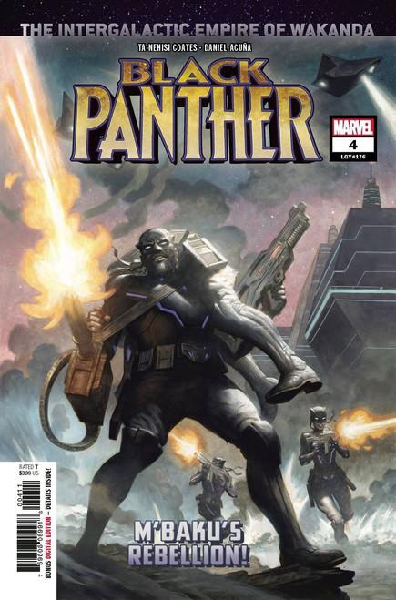 Marvel Comics Black Panther #4 Comic Book