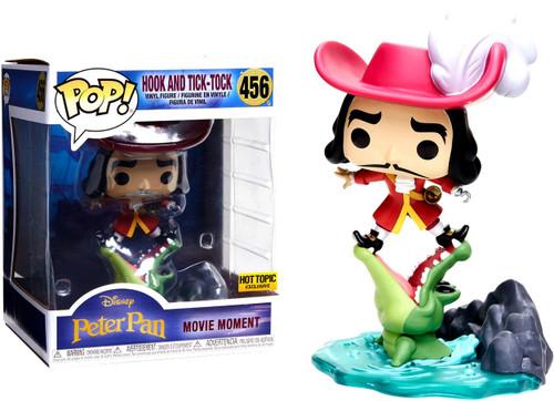 Funko Peter Pan POP! Disney Hook & Tick Tock Exclusive Vinyl Figure #456 [Movie Moments, Villain Box]