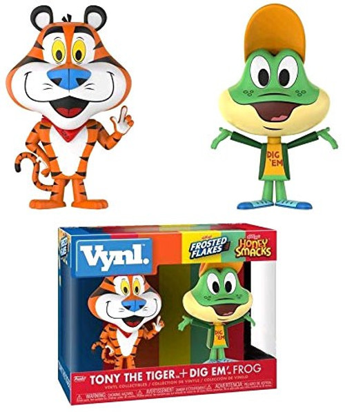 Funko Kellogg's Vynl. Tony The Tiger & Dig Em' Frog Exclusive Vinyl Figure 2-Pack