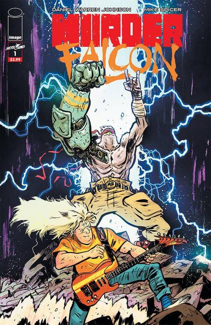 Image Comics Murder Falcon #1 Comic Book