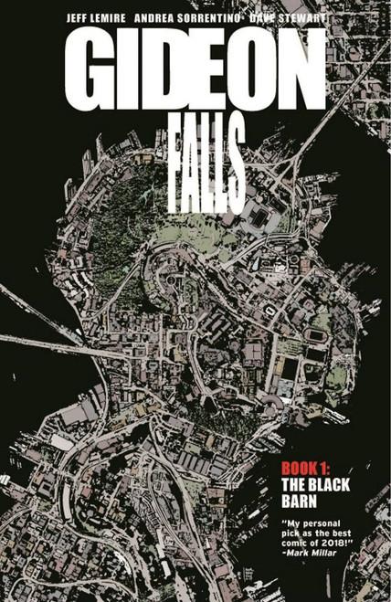 Image Comics Gideon Falls Black Barn Trade Paperback Comic Book Vol 1