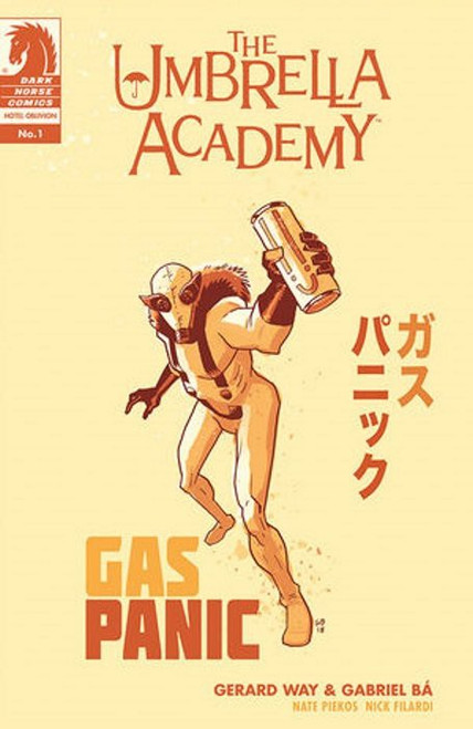 Dark Horse Umbrella Academy #1 Hotel Oblivion Comic Book [Cover B]