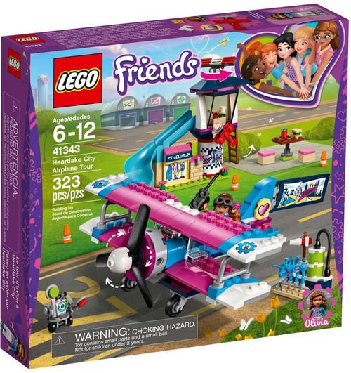 LEGO Friends Heartlake City Airplane Tour Set #41343