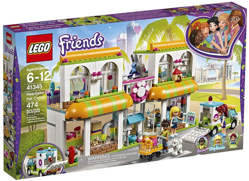 LEGO Friends Heartlake City Pet Center Set #41345