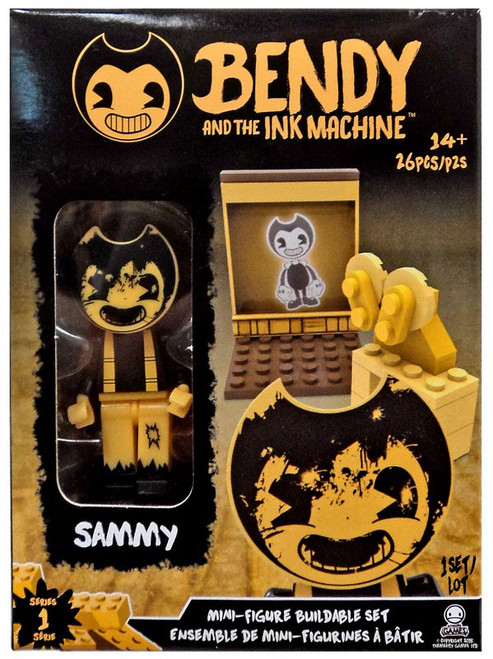 Bendy and the Ink Machine Mini Figure Sammy Buildable Set