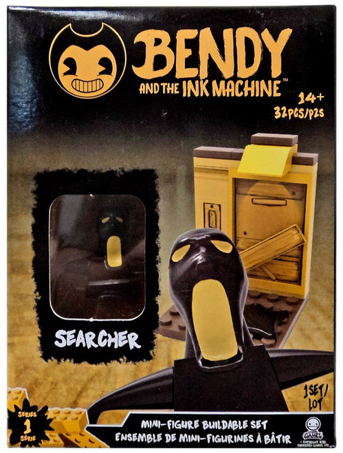 Bendy and the Ink Machine Mini Figure Searcher Buildable Set