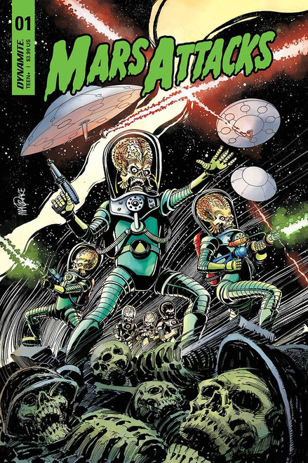 Dynamite Entertainment Mars Attacks #1 Comic Book