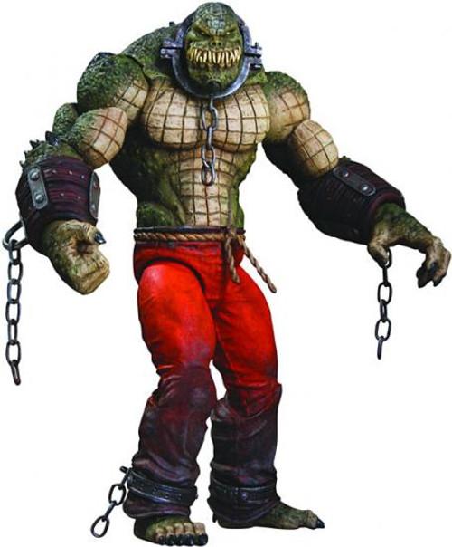 Batman Arkham City Deluxe Killer Croc Action Figure