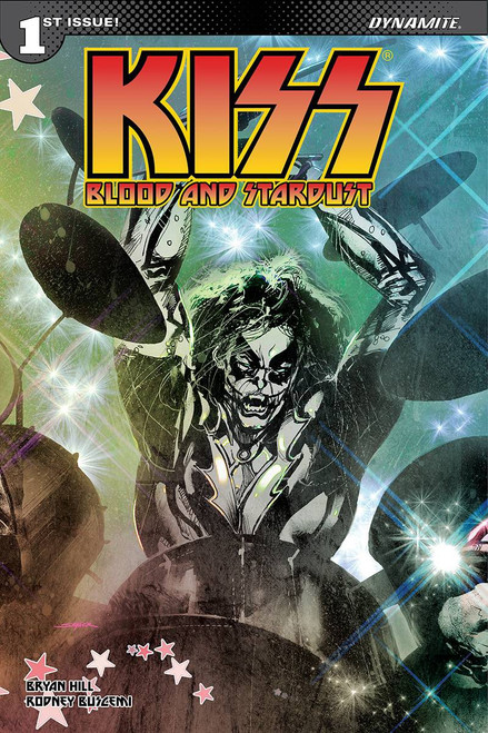 Dynamite Entertainment Kiss Blood Stardust #1 Comic Book [Cover C Sayger Catman Variant]