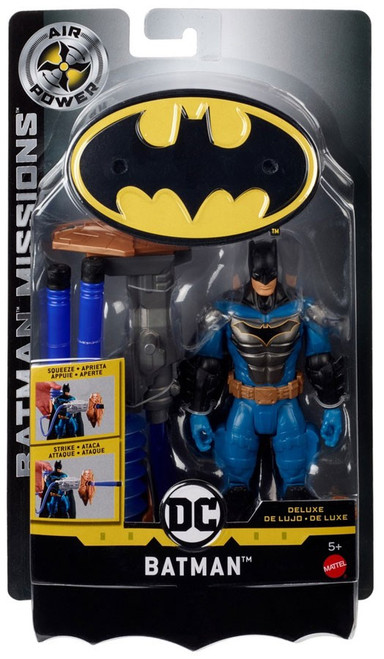 DC Batman Missions Batman Deluxe Action Figure [Air Power]