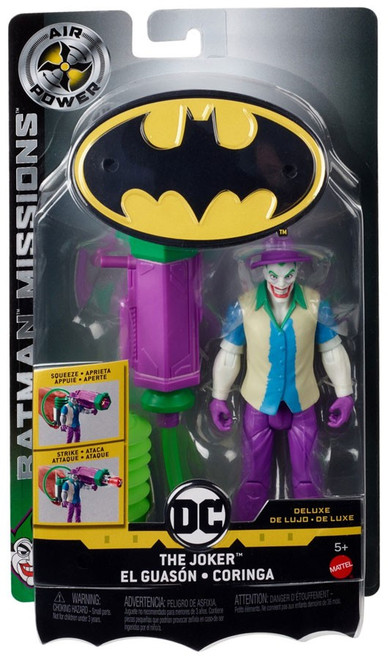 DC Batman Missions The Joker Deluxe Action Figure [Air Power]