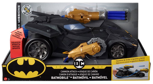 DC Batman Missions Cannon Attack Batmobile Vehicle
