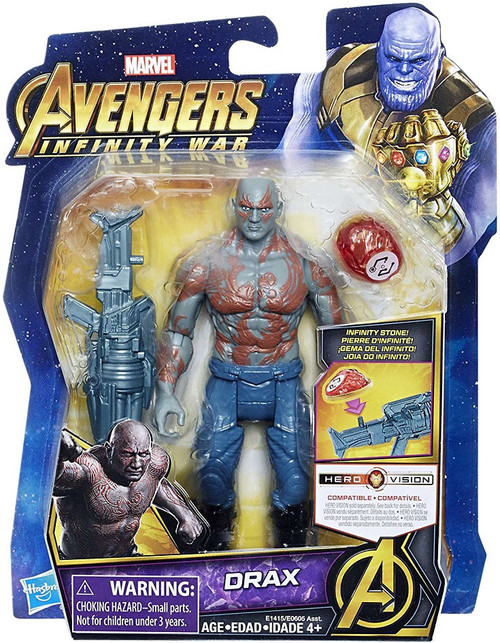 Marvel Avengers Infinity War Drax Action Figure [with Stone]