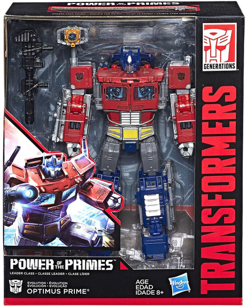 Transformers Generations Power of the Primes Optimus Prime Leader Action Figure [Damaged Package]