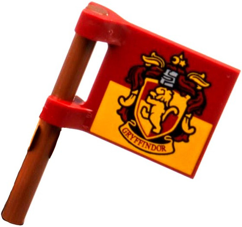 LEGO Gryffindor Flag Loose Accessory [Loose]