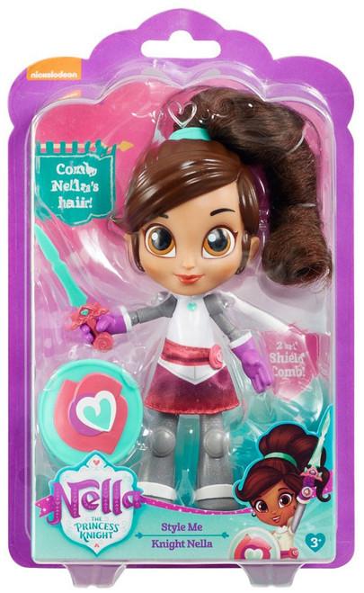 Nickelodeon Nella The Princess Knight Style Me Knight Nella 7-Inch Figure