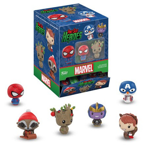 Funko Pint Size Heroes Marvel Holiday Mystery Box [24 Packs]
