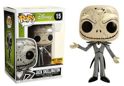 Funko Nightmare Before Christmas POP! Disney Jack Skellington Exclusive Vinyl Figure #15 [Zero Print]
